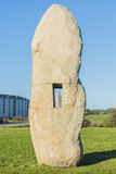 Menhirs park in A Coruna, Galicia, Spain Stock Photography