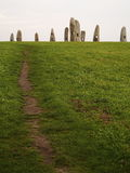 Menhirs for the peace Stock Image