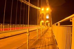 Meni most Północny Walia, UK Obraz Stock