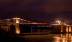 Menia-Brücke stockfotografie