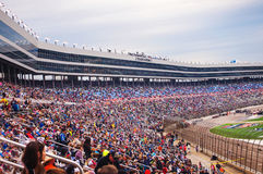 Menigte in Duck Commander 500 NASCAR-ras 2016 Royalty-vrije Stock Foto's