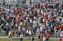 Menigte in F1 Royalty-vrije Stock Fotografie
