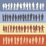 Menigte van mensen Royalty-vrije Stock Afbeeldingen