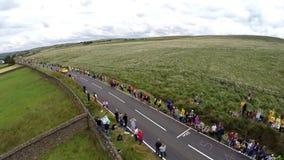 Menigten bij de Ronde van Frankrijk Royalty-vrije Stock Afbeelding