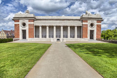 Menin门-第一次世界大战纪念品在伊珀尔 库存照片