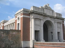The Menin Gate royalty free stock image