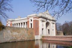 The Menin Gate Memorial in Belgium Stock Photos