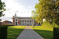 The Menin Gate; South view Stock Photos