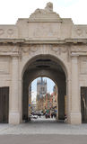 Menin Gate War Memorial at Ieper Belgium Royalty Free Stock Photo