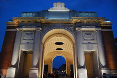 Menin Gate, Ypres, Belgium Royalty Free Stock Photos