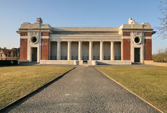 Menin Gatter-Denkmal bei Ypres Lizenzfreie Stockfotografie