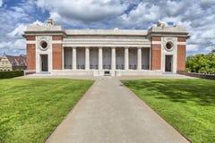 Menin port - minnesmärke för världskrig I i Ypres Arkivfoto