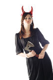 Menina à moda Fotografia de Stock Royalty Free
