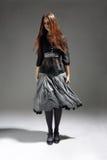 Menina à moda foto de stock royalty free