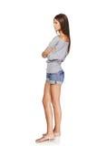 Menina à moda bonita Fotografia de Stock
