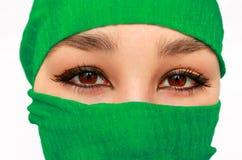 Menina árabe Imagem de Stock