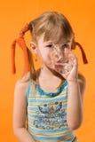 A menina. imagens de stock