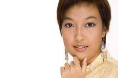 Menina 15 do Malay Foto de Stock