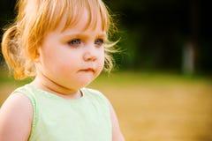 A menina Foto de Stock