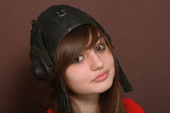 Menina adolescente Imagens de Stock