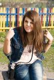 Menina adolescente Imagem de Stock Royalty Free