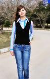 Menina adolescente Foto de Stock