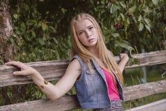 Menina adolescente Fotos de Stock Royalty Free