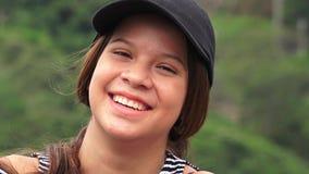 Menina adolescente adorável bonito fotografia de stock royalty free
