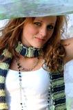 Menina adolescente bonita imagem de stock
