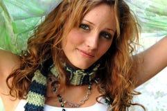 Menina adolescente bonita Fotos de Stock