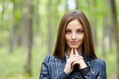Menina adolescente bonita Fotografia de Stock