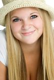 Menina adolescente bonito Imagens de Stock Royalty Free
