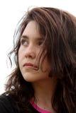 Menina adolescente com atitude Imagem de Stock
