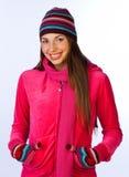 Menina adolescente de sorriso Imagem de Stock