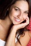 Menina adolescente de sorriso Imagem de Stock Royalty Free