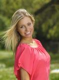 Menina adolescente de sorriso Foto de Stock Royalty Free