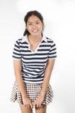Menina adolescente de Tailândia Foto de Stock Royalty Free