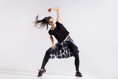 Menina adolescente do dançarino Imagens de Stock Royalty Free