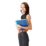 Menina adolescente do estudante Fotografia de Stock