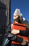 Menina adolescente do estudante Imagem de Stock