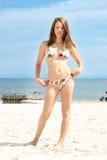 Menina adolescente do verão Fotografia de Stock Royalty Free