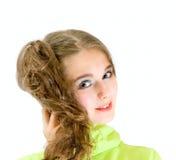 Menina adolescente encantadora Imagem de Stock Royalty Free