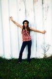 Menina adolescente feliz imagens de stock royalty free