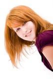 Menina adolescente freckled bonita imagens de stock royalty free