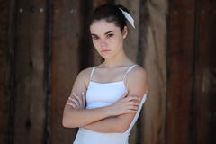 Menina adolescente infeliz Fotografia de Stock