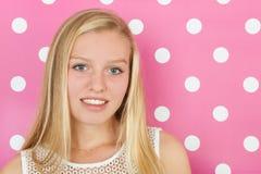 Menina adolescente loura Fotos de Stock Royalty Free