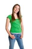 Menina adolescente na moda Fotografia de Stock