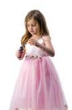 Menina adolescente no vestido nacional Imagens de Stock Royalty Free