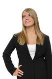 Menina adolescente no vestuário formal Fotografia de Stock Royalty Free