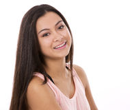 Menina adolescente ocasional imagem de stock royalty free